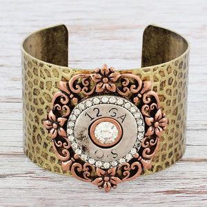 Jewelry - Decorative 12 Gauge Disk Cuff